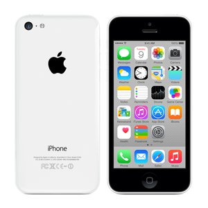 Apple iPhone 5C, GSM Unlocked, 8GB - White (Renewed)]()