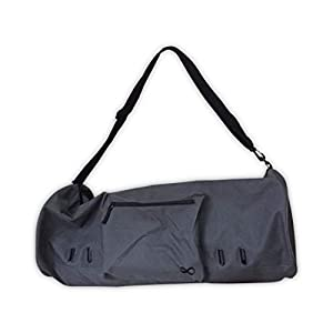 """Well-Being-Matters 31kQpXHzTFL._SS300_ YogaAddict Large Yoga Mat Bag and Carriers Compact with Pockets, 28""""x8"""" & 29""""x11"""" Long, Fit Most Mat Size, Extra Wide, Adjustable Strap, Easy Access"""