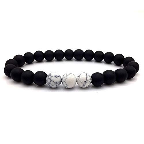 whitespace-shop Fashion Bead Bracelet Men Classic Fashion Beads Charm Bracelets & Bangles for Men Accessories Gift,Db115-4