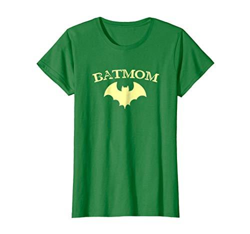 Womens Womens Batmom Super Hero Proud Mom Halloween Costume -