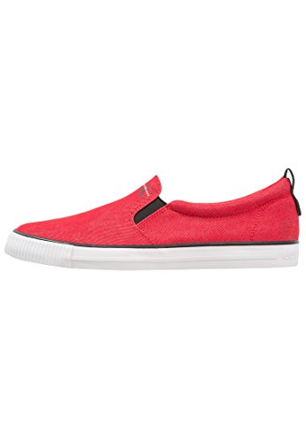 Calvin Klein Men's Loafer Flats Red Red dYA3c