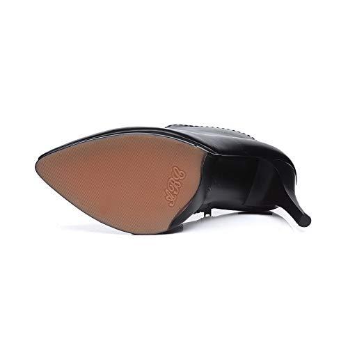 Noir Eu Compensées 5 Noir 36 Abm12667 Balamasa Sandales Femme 0R8xIq