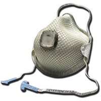 MOLDEX 2700 N95 Respirator with Handy Strap and Valve - 10 Per Box by Moldex
