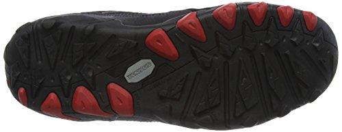 Groundwork GW400 N, Scarpe Di Sicurezza Uomo, Nero (Black/ Red), 42 EU