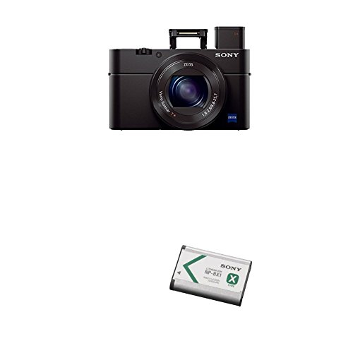 Sony Cyber-shot DSC-RX100 III Digital Still Camera with Lithium-Ion X Type Battery (Black)