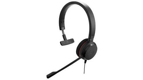 Jabra Evolve 20 Mono MS - Professional Unified Communicaton Headset