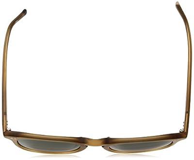 Calvin Klein Men's Ck4321s Square Sunglasses, Matte Light Brown, 51 mm