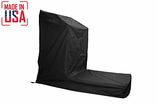 THE BEST Non-Folding Treadmill Protective Cover. Heavy Duty and Water-Resistant Fitness Equipment Fabric Ideal For Indoor Or Outdoor use. Made in USA with 3-Year Warranty. (Black, (Non Folding)