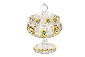 Bohemia Crystal - Gold Crystal Bowl