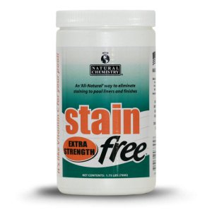 (Natural Chemistry 7395 1-3/4 lb Stain Free Pool Stain Remover)