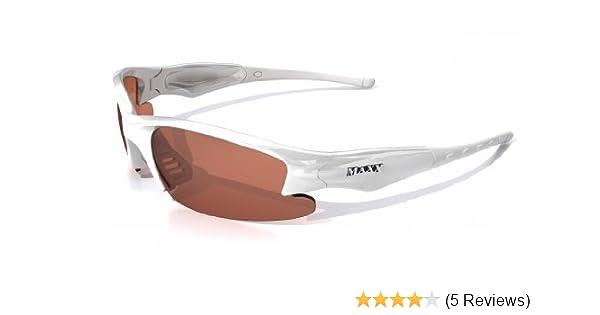 1d2b3fda86 Amazon.com  Maxx Phantom 2.0 Sun Glasses White Amber Lens  Clothing