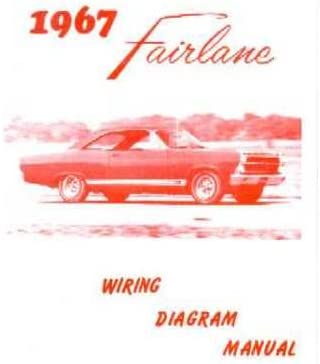 Amazon.com: 1967 FORD FAIRLANE Wiring Diagrams Schematics: Everything Else | Ford Fairlane Wiring Diagram |  | Amazon.com