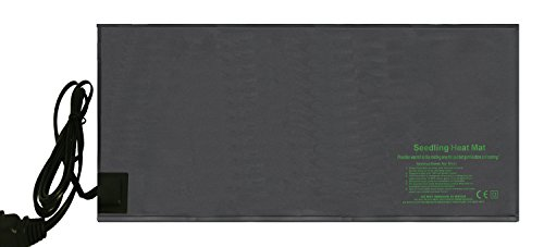 Hongville Durable Waterproof Seedling Heat Mat Hydroponic Heating Pad 48'' x 20.75'' by Hongville