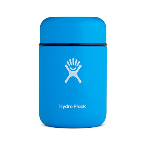 Hydro Flask Food Flask Thermos Jar - Stainless Steel & Vacuum Insulated - Leak Proof Cap - 12 oz, Pacific (Hydra Thermos)