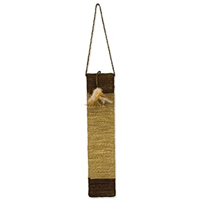 Ware Manufacturing Sisal and Seagrass Cat Door Scratch Post from Ware Manufacturing Inc.