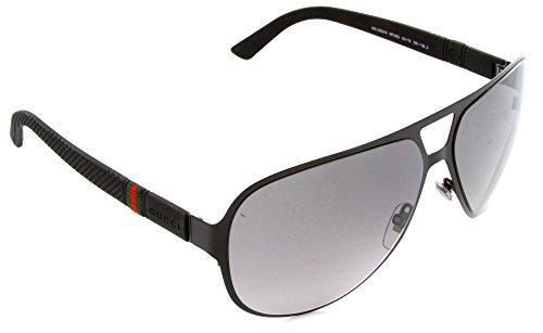d56762a4ac028 Gucci Men s GG 2252 S Black SemiMatte Gray Gradient - Import It All