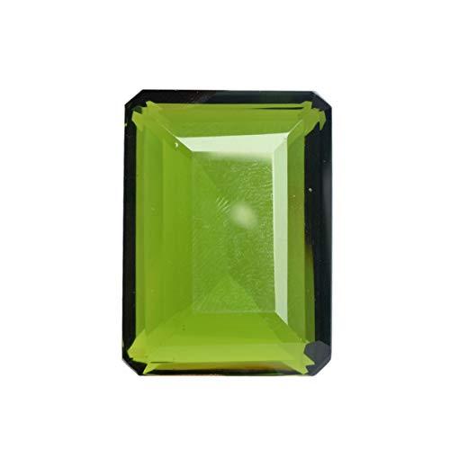 Emerald Amethyst Cut Pendant (Pendant Size Green Amethyst 131.30 Ct Translucent Amethyst Emerald Cut Green Amethyst Gemstone)