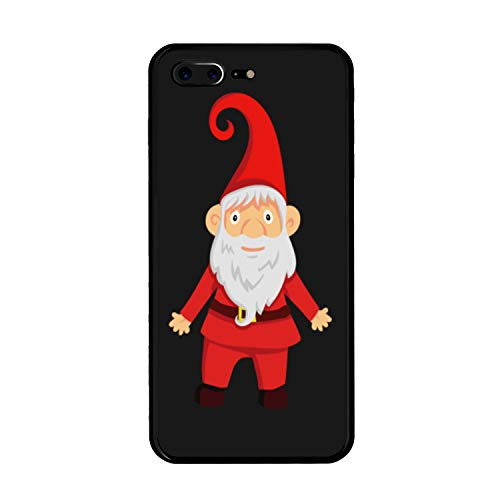 The Mass iPhone 7/8 Plus Case,Tempered Glass Back Shockproof Bumper Cover iPhone 7/8 Plus (Merry Christmas Special)