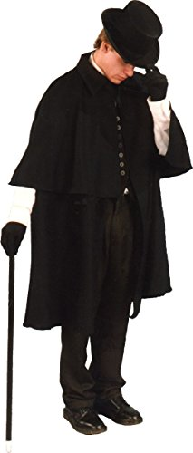 Victorian Costumes For Men (Alexanders Costumes Men's Victorian Coat, Black, One Size)