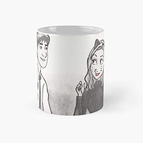 Jim And Pam 110z Mugs -
