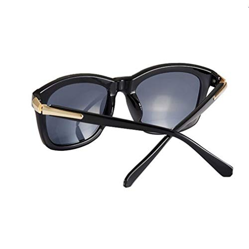 Protección Gafas 100 Para Cuadradas Sunny Mujeres Moda Color Negro Honey Tea Hd De Sol color Polarizadas Uv vI8q45qB