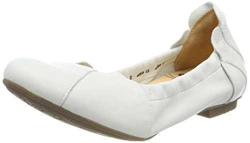 Think Balla_282161, Bailarinas para Mujer Blanco (Bianco 96)