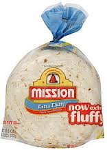 Mission Extra Fluffy Flour Tortilla 6