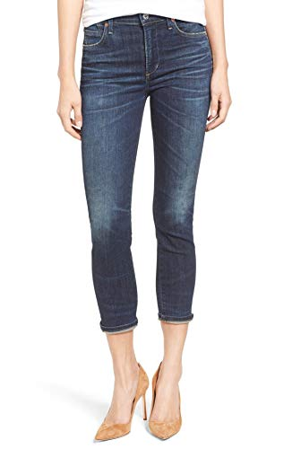 (Citizens of Humanity Rocket Crop High Rise Skinny in Call Me (28))