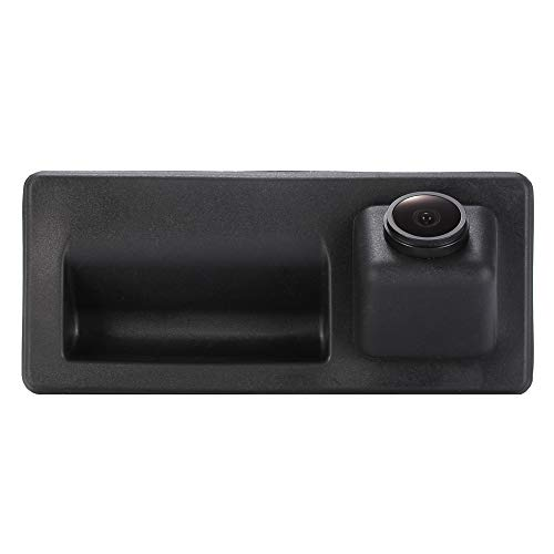 Trunk Handle Backup Camera with Waterproof HD Night Vision Rear View and 170 Degree Super Wide Angle Reverse for Audi VW/Tiguan/Touareg/Golf VI Variant/Golf Gross Sharan/Passat Variant/Skoda (Sharan Camera)