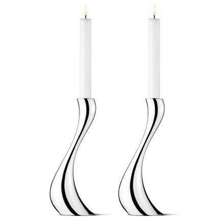 Georg Jensen COBRA candleholder, large, 2 (Georg Jensen Antiques)