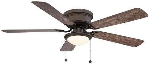 Hugger 52 Inch LED Espresso Bronze Ceiling Fan Model AL383LED-BN