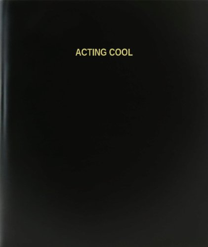 BookFactory Acting Cool Log Book / Journal / Logbook - 120 Page, 8.5