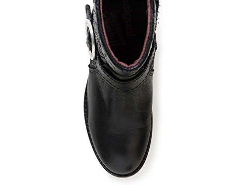 Para Desigual Lottie breaker Shoes Botas Nero Mujer wPxqUaIRx1