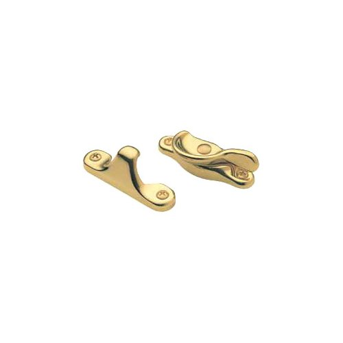Baldwin 0452.003 Window Sash Lock, Lifetime Polished Brass Baldwin Brass Latch