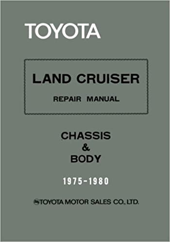 Toyota Land Cruiser Repair Manual - Chassis & Body - 1975