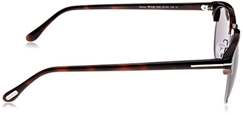 havanna FT0248 Tom Ford Sonnenbrille Henry dunkel xaazBqwH
