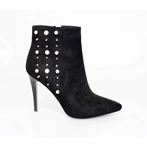 Livvy Lunar Lunar Heeled Black Boots Livvy qw0wgU