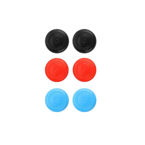 (DayRise 3D Replacement Joystick Analog Thumb Stick Protective Hat for Nintendo Switch Joy-Con Controller - Include 6pcs Hat (6pcs Hat Pack))