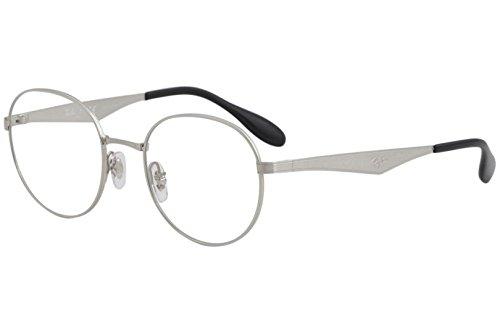 Ban Ray 6343 2595 Eyeglasses Rx Vista Silver ZiuPXkOT
