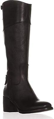 91572fd1731 Patricia Nash Womens Loretta Wide Calf Riding Boots Black 10 Medium ...