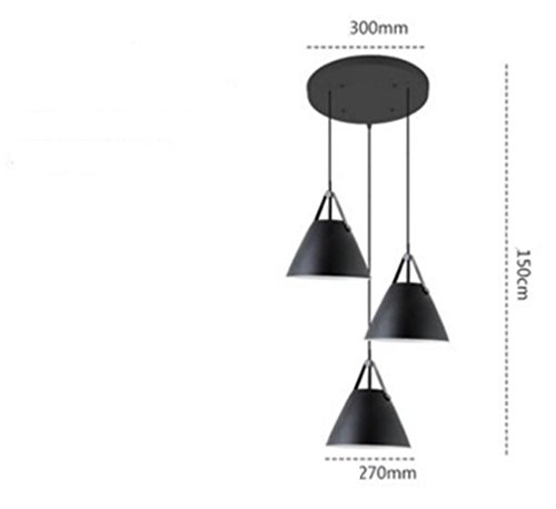 Domed Metal Pendant Light Shade - 4
