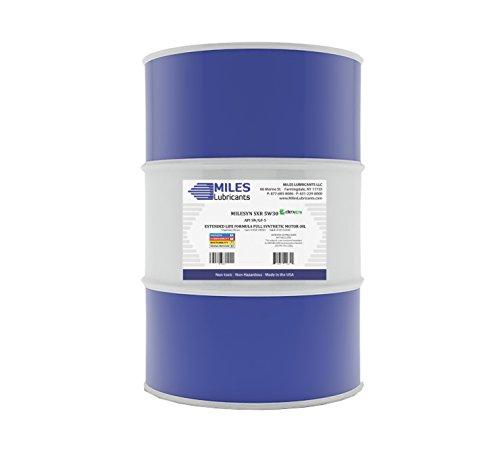 Milesyn SXR 5W30 API GF-5/SN Dexos1 Full Synthetic Motor Oil 55 Gallon Drum by MILES LUBRICANTS