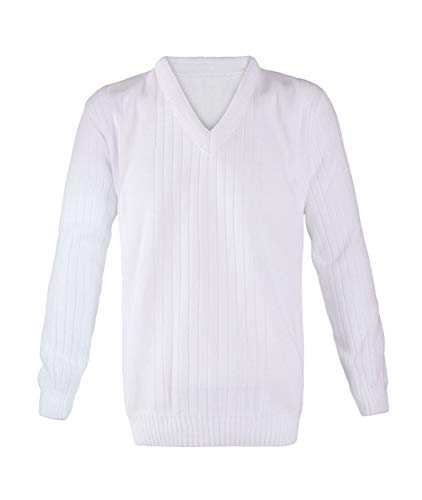 Longues Blanc Unique Homme Manches Taille 21fashion Pull zqxHawz4