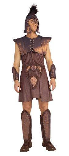 [Forum Novelties Men's Adult Greek Warrior Costume, Brown, Standard] (Ancient Roman Soldier Costume)