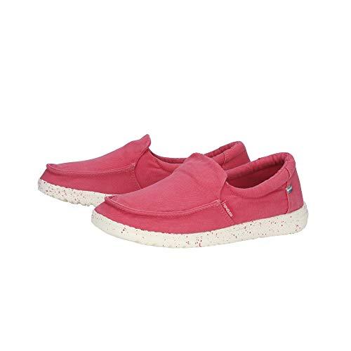 Dude De Brumoso Mujeres Las Coral Lavado Rosa Shoes OOZqrwx5C