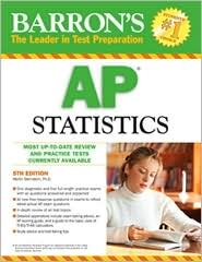Barron's AP Statistics 5th (fifth) edition Text Only
