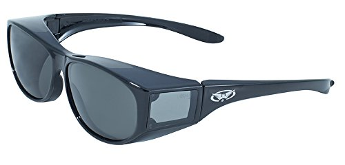 Global Vision Eyewear Escort Safety Glasses, Smoke Tint - Goggles Biker Prescription