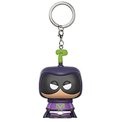 Nickelodeon Funko Pop Keychain South Park Mysterion Action Figure: Funko Pop! Keychain:: Toys & Games