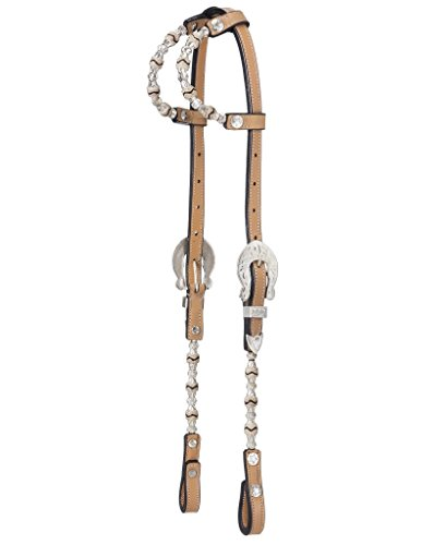 Double Ear Show Headstall - Royal King Silver Double Ear Show Headstall