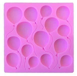 Múltiple GLOBOS silicona torta topper molde calidad alimentaria CALIDAD SILICONA CUMPLEAÑOS, San Valentín, congratulatory
